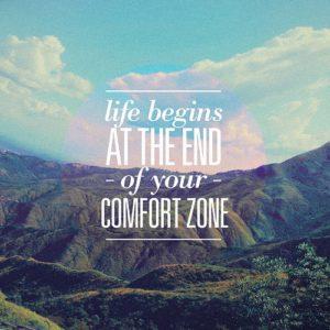 Život začíná za hranicí vaší komfortní zóny (opět)